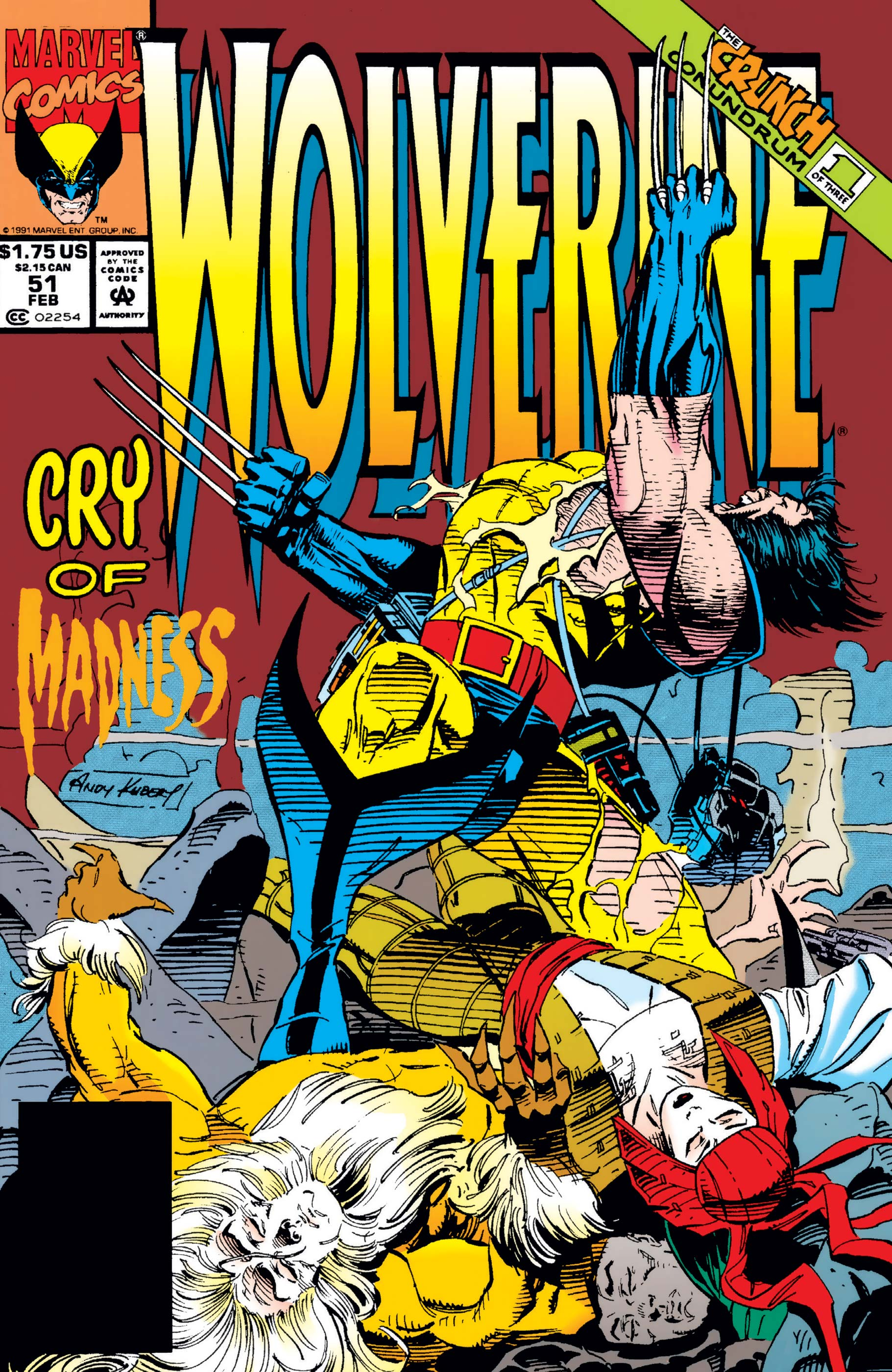 Wolverine (1988) #51