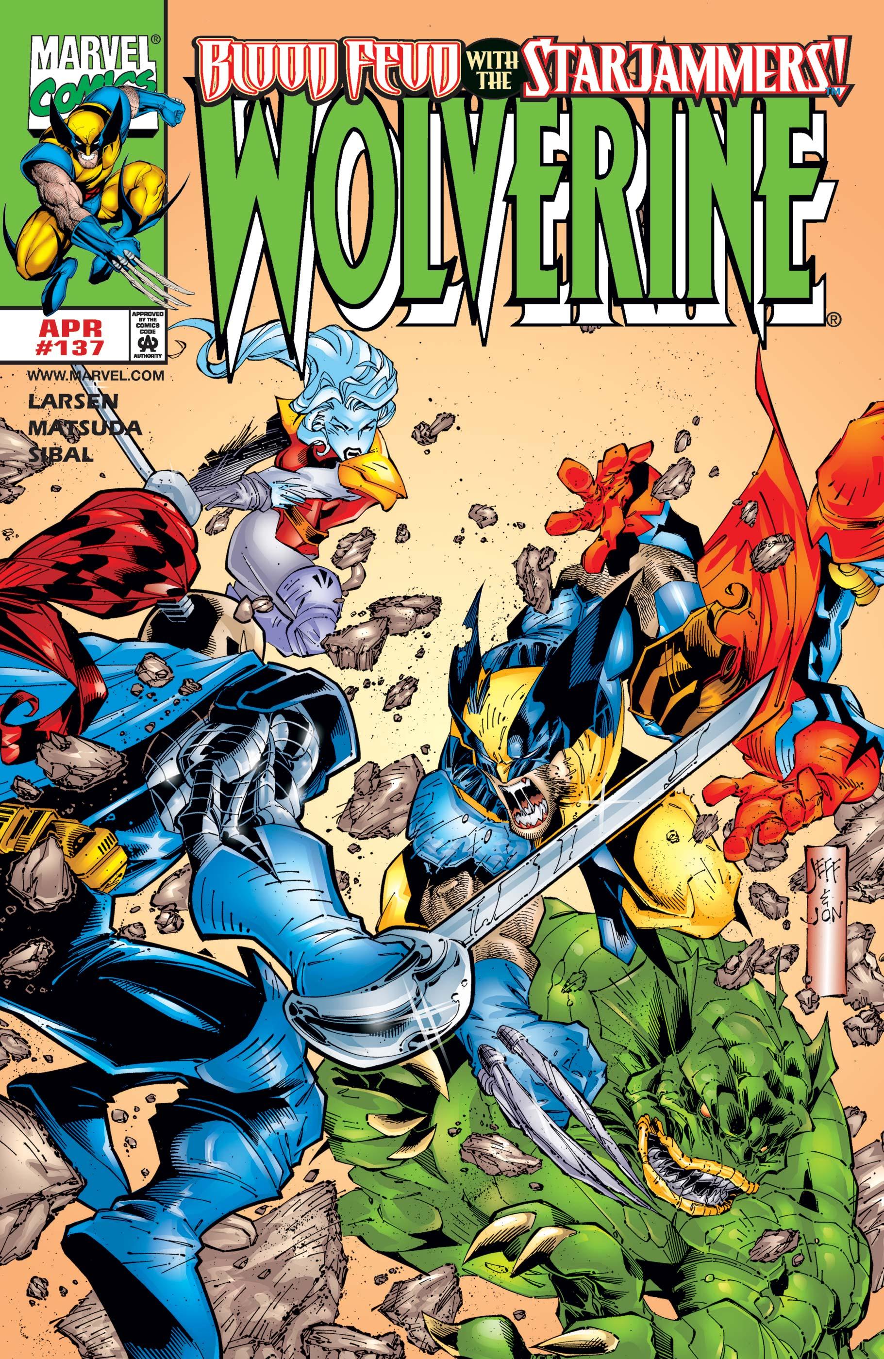 Wolverine (1988) #137