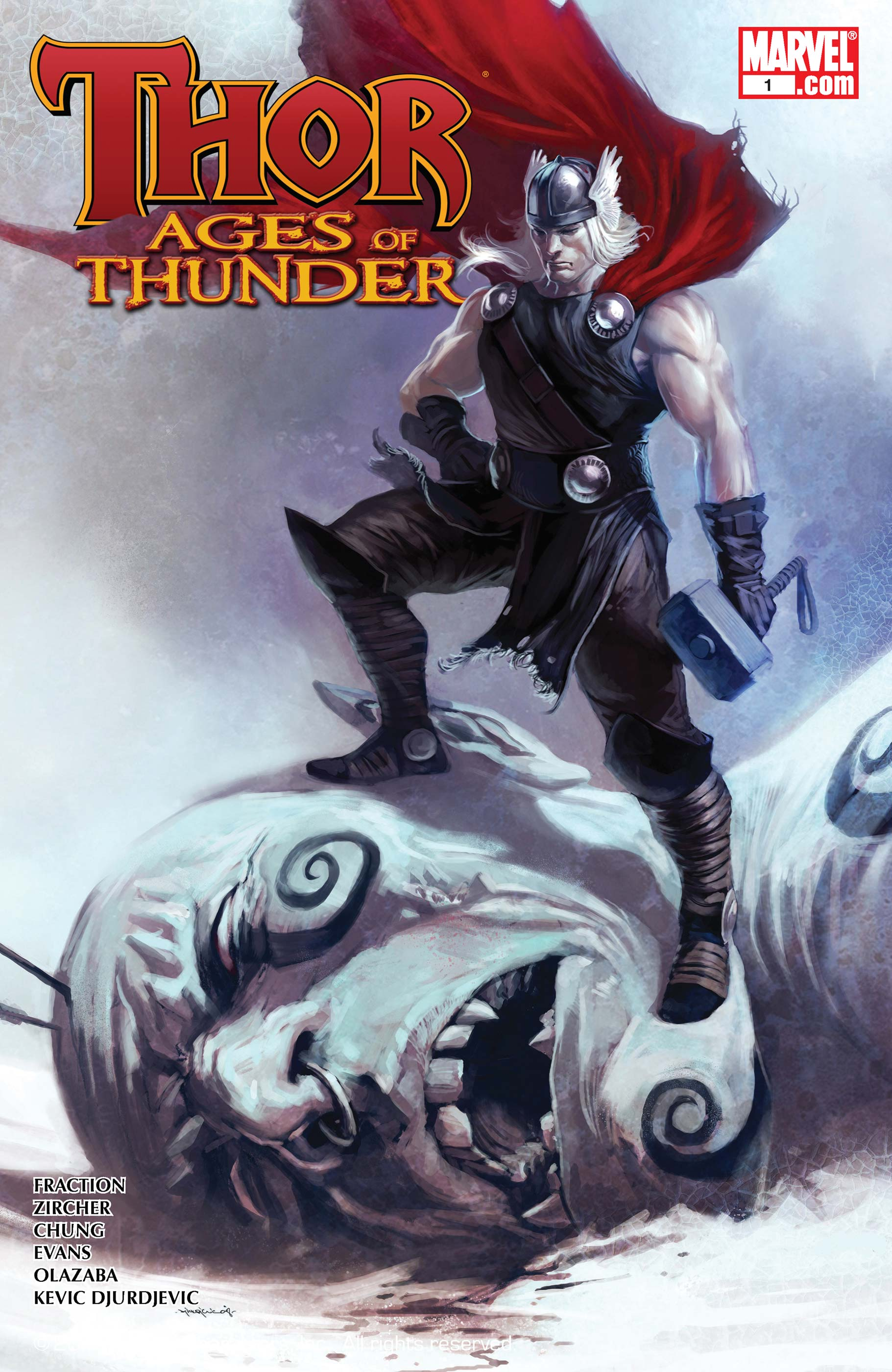 Thor: Ages of Thunder (2008) #1