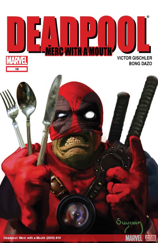 Deadpool: Merc with a Mouth (2009) #10