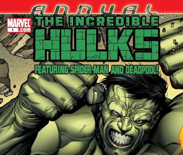 INCREDIBLE HULKS ANNUAL (2011) #1