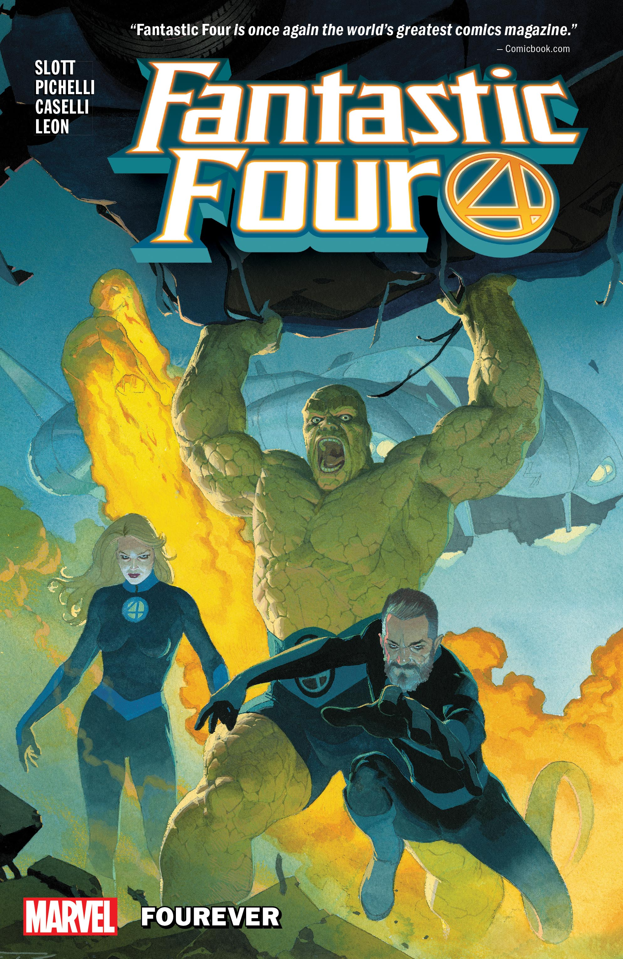 Fantastic Four Vol. 1: Fourever (Trade Paperback)
