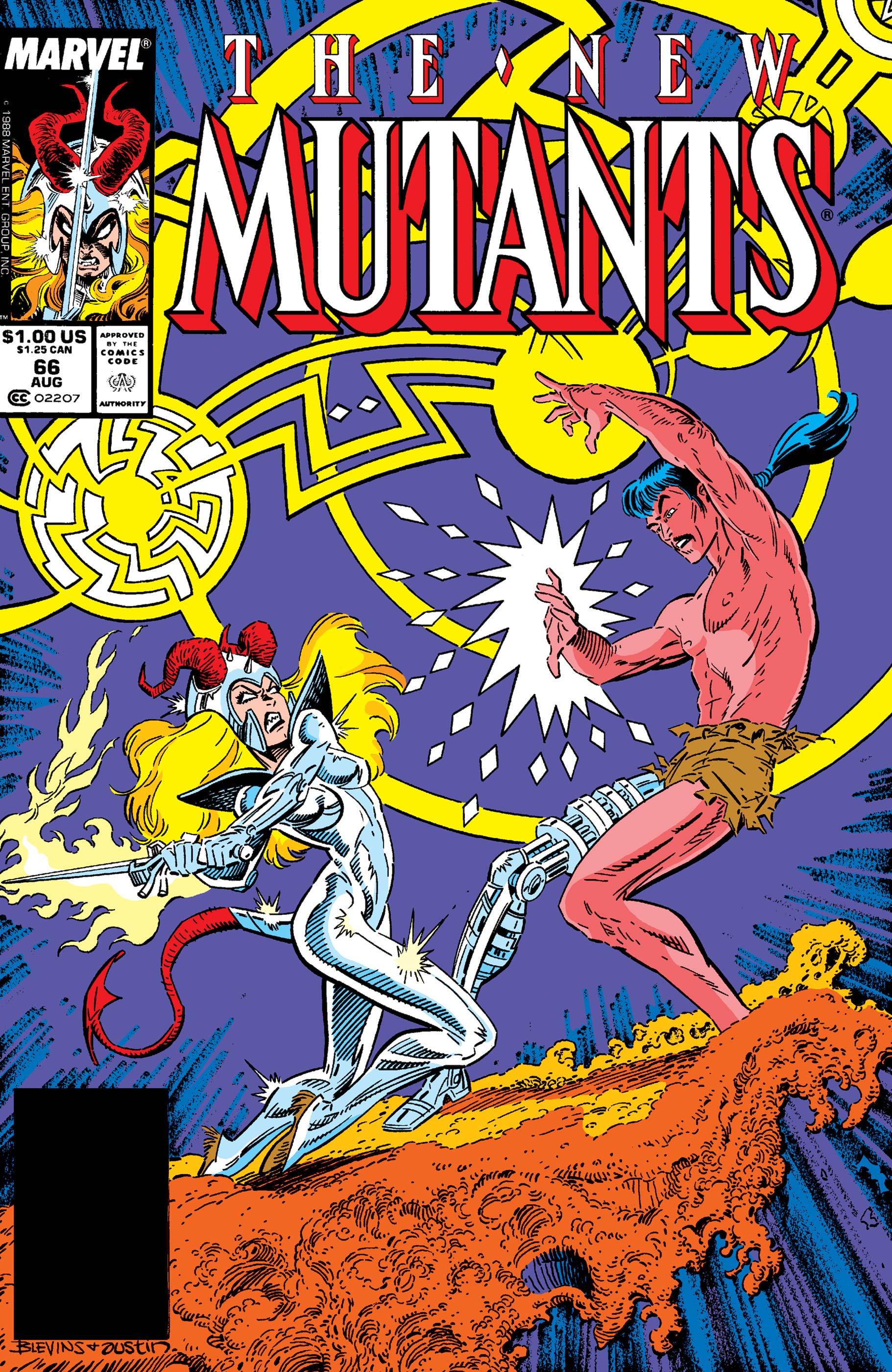 New Mutants (1983) #66