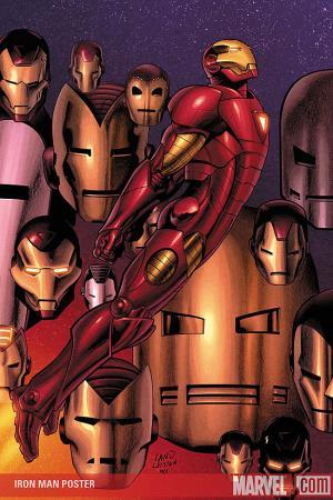 Iron Man Greg Land Poster (2008)