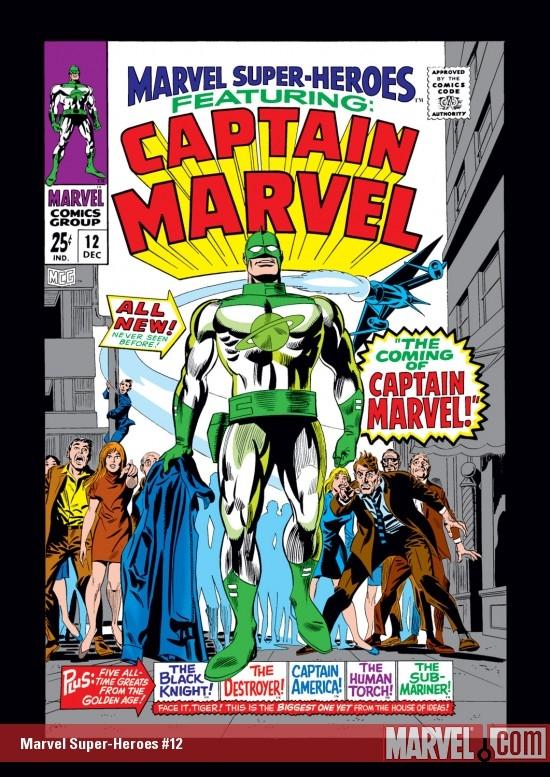Marvel Super-Heroes (1967) #12