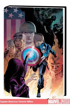Captain America: Forever Allies (Hardcover)