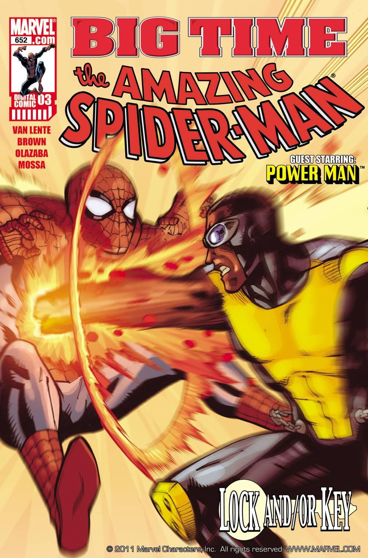 Spider-Man: Big Time (2010) #3