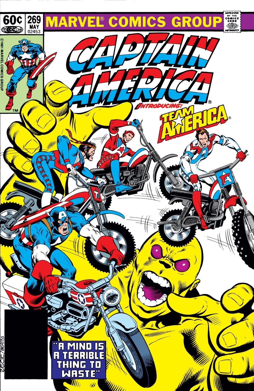 Captain America (1968) #269