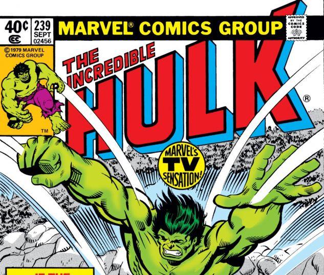Incredible Hulk (1962) #239 Cover