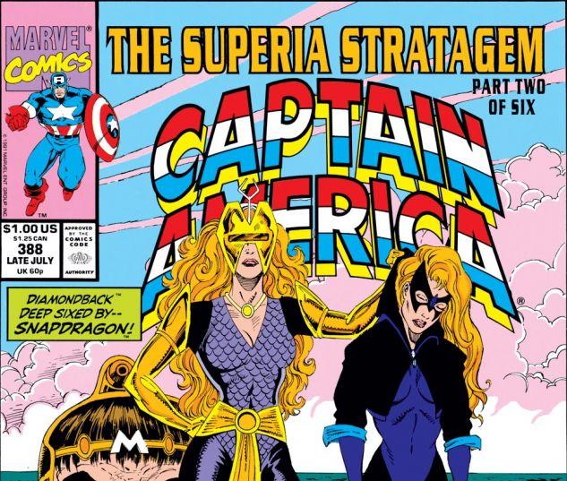 Captain America (1968) #388 Cover