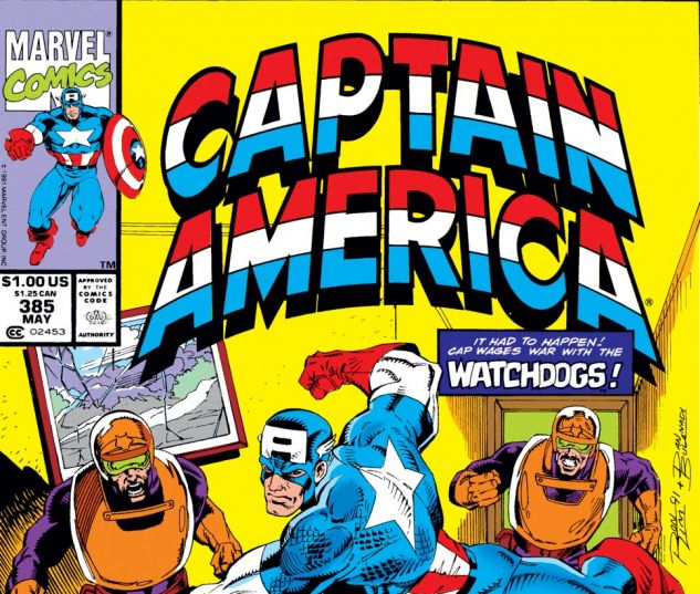 Captain America (1968) #385 Cover