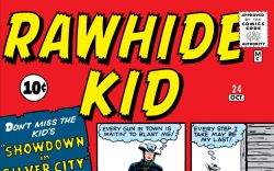 Rawhide Kid (1960) #24 Cover