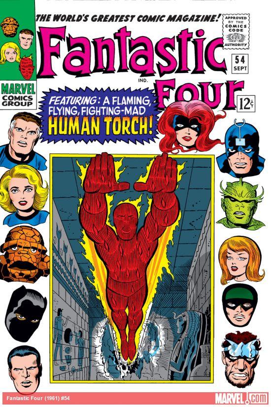 Fantastic Four (1961) #54