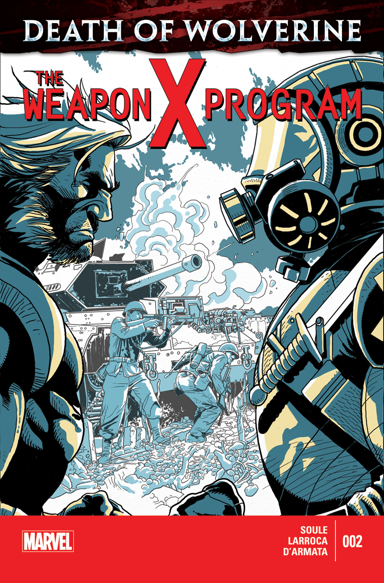 Death of Wolverine: The Weapon X Program (2014) #2