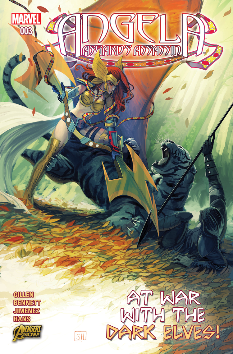 Angela: Asgard's Assassin (2014) #3