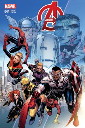 Avengers #44  (Cheung Final Issue Variant)