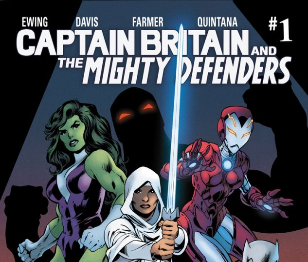 CAPTAIN BRITAIN AND THE MIGHTY DEFENDERS 1 (SW, WITH DIGITAL CODE)