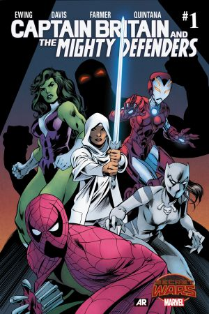 Captain Britain and the Mighty Defenders #1