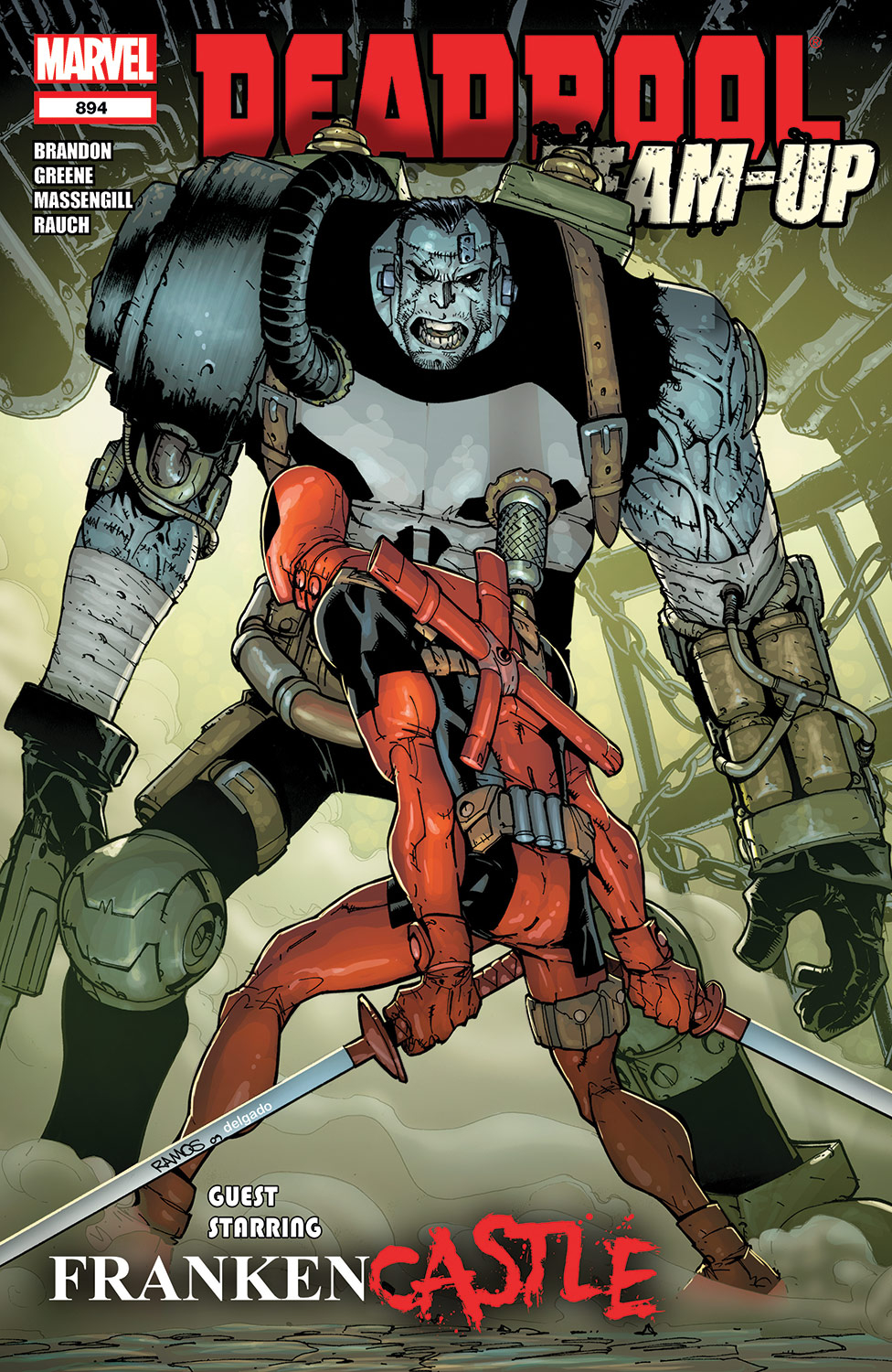 Deadpool Team-Up (2009) #894