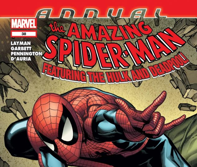 AMAZING SPIDER-MAN ANNUAL (2011) #38 Cover