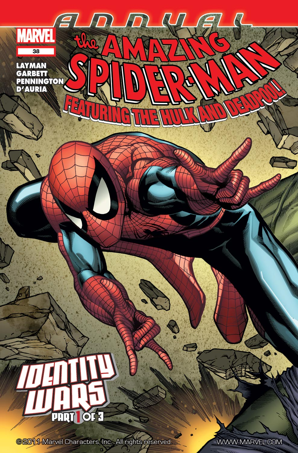 Amazing Spider-Man Annual (2011) #38