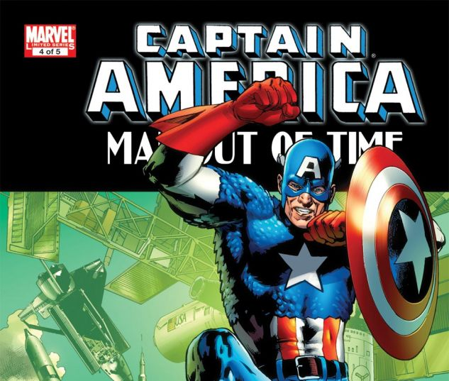 CAPTAIN AMERICA: MAN OUT OF TIME (2010) #4 Cover