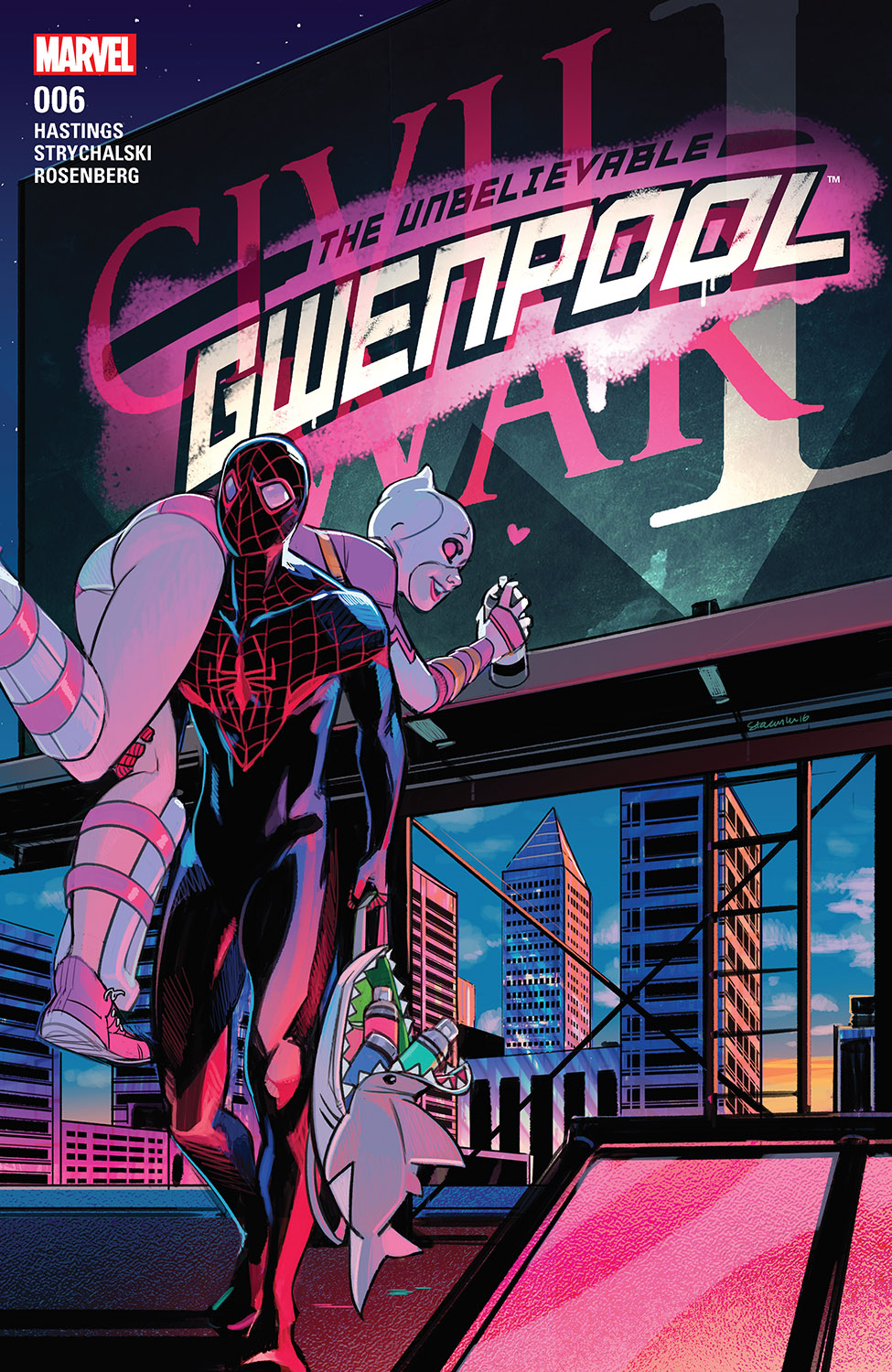 The Unbelievable Gwenpool (2016) #6