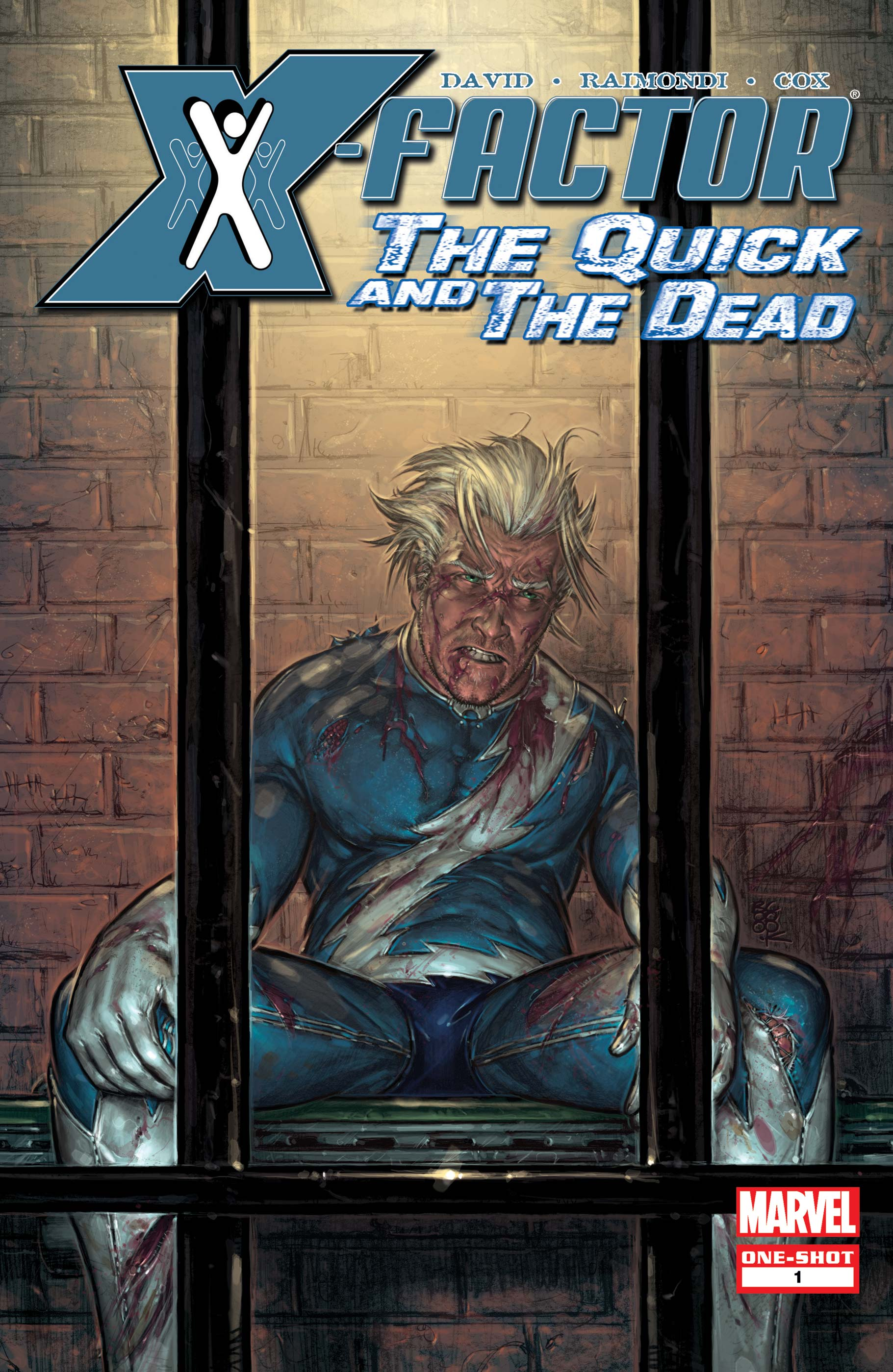 X-Factor: The Quick and the Dead (2008) #1