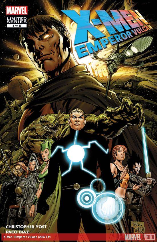 X-Men: Emperor Vulcan (2007) #1