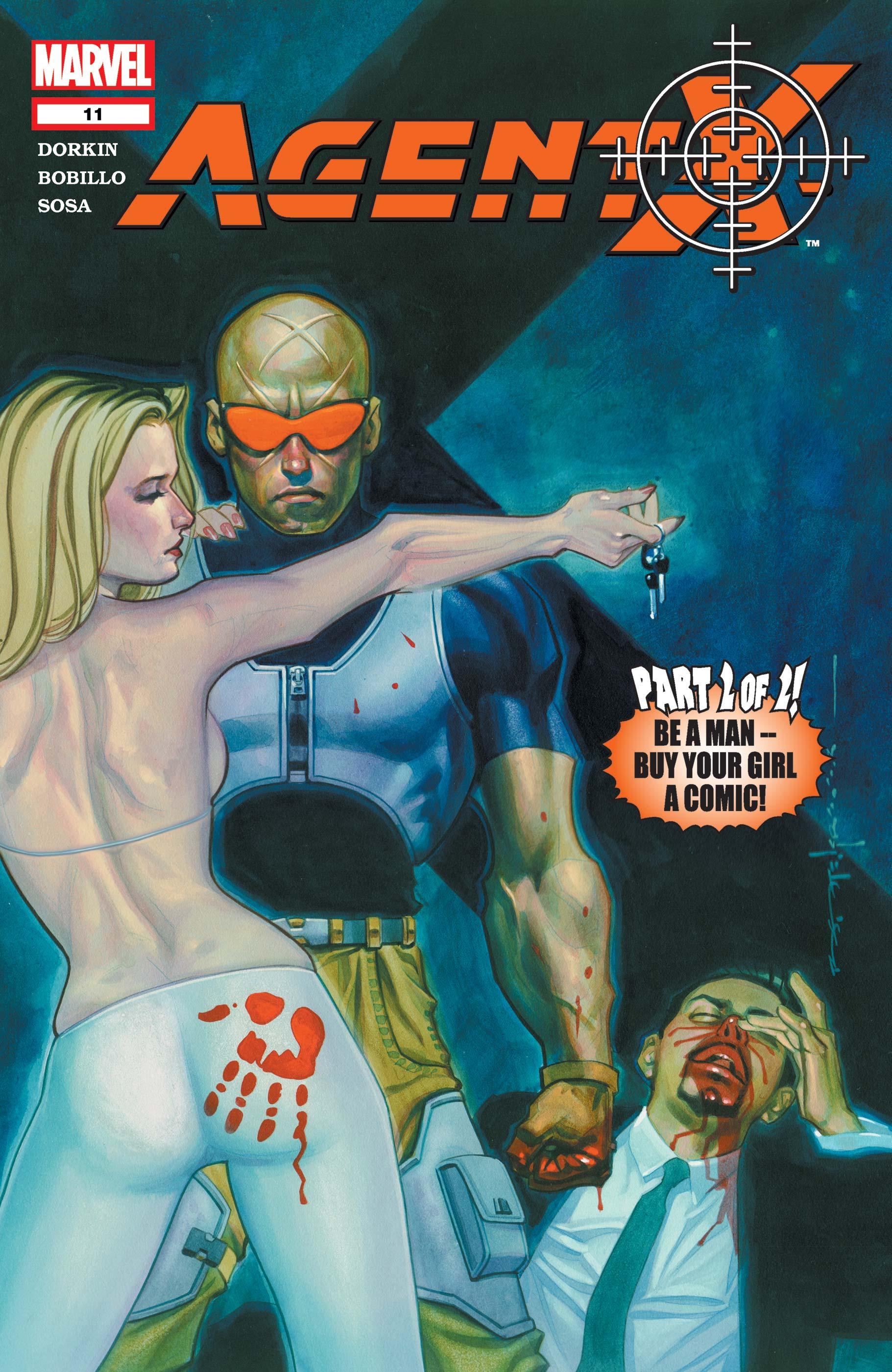 Agent X (2002) #11