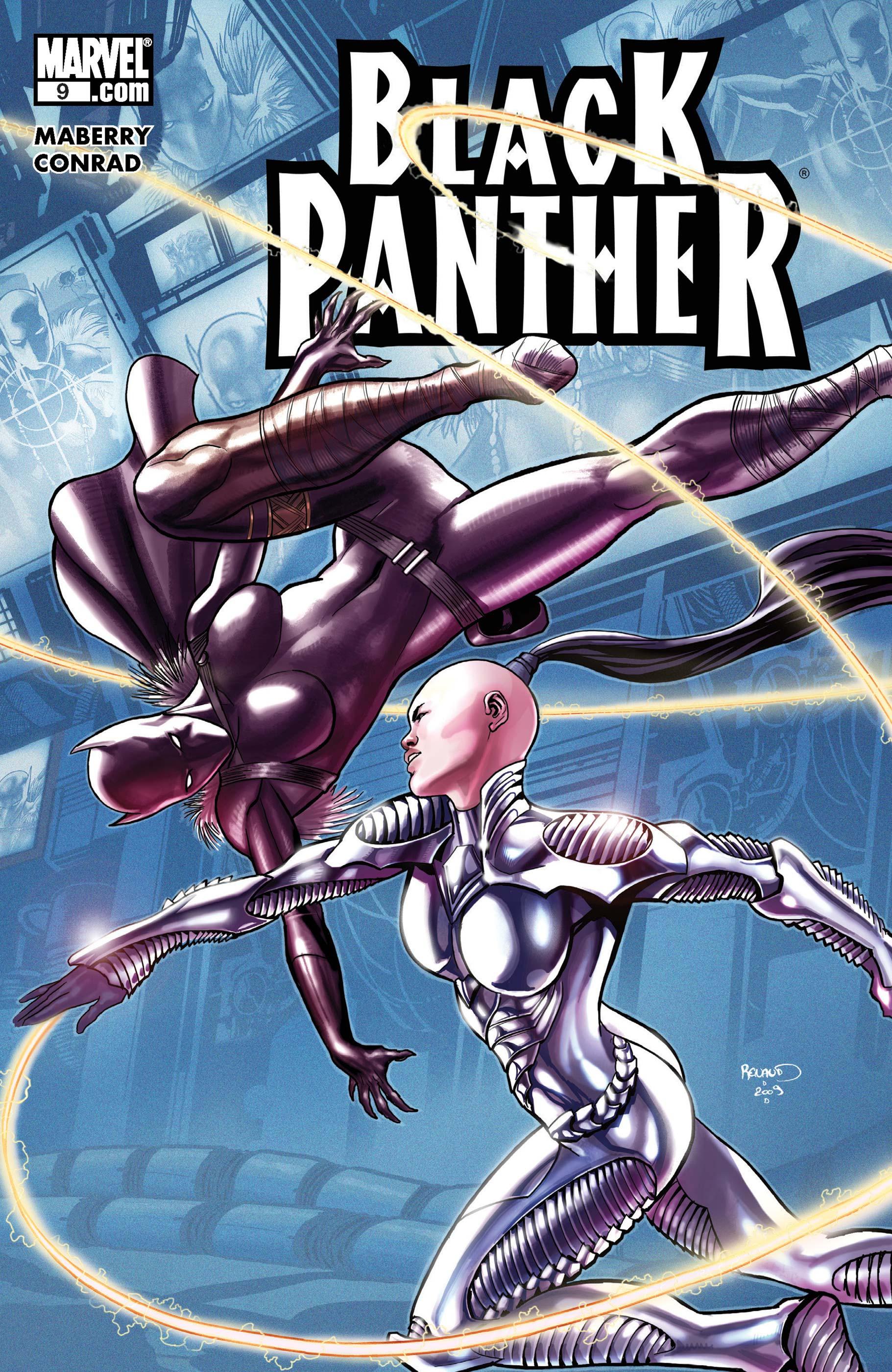 Black Panther (2008) #9