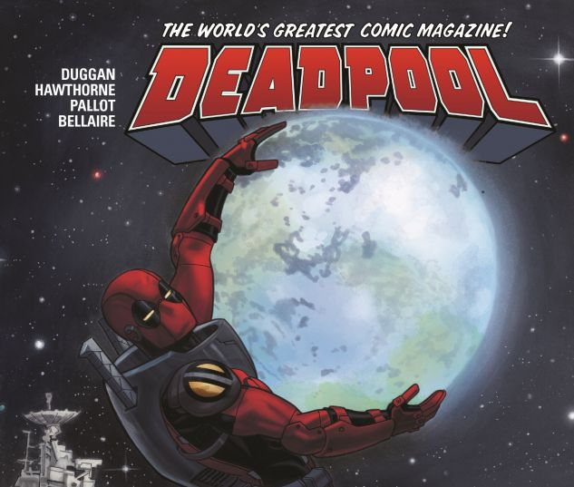 cover from DEADPOOL: WORLD'S GREATEST VOL. 9 - DEADPOOL IN SPACE TPB (2017) #9