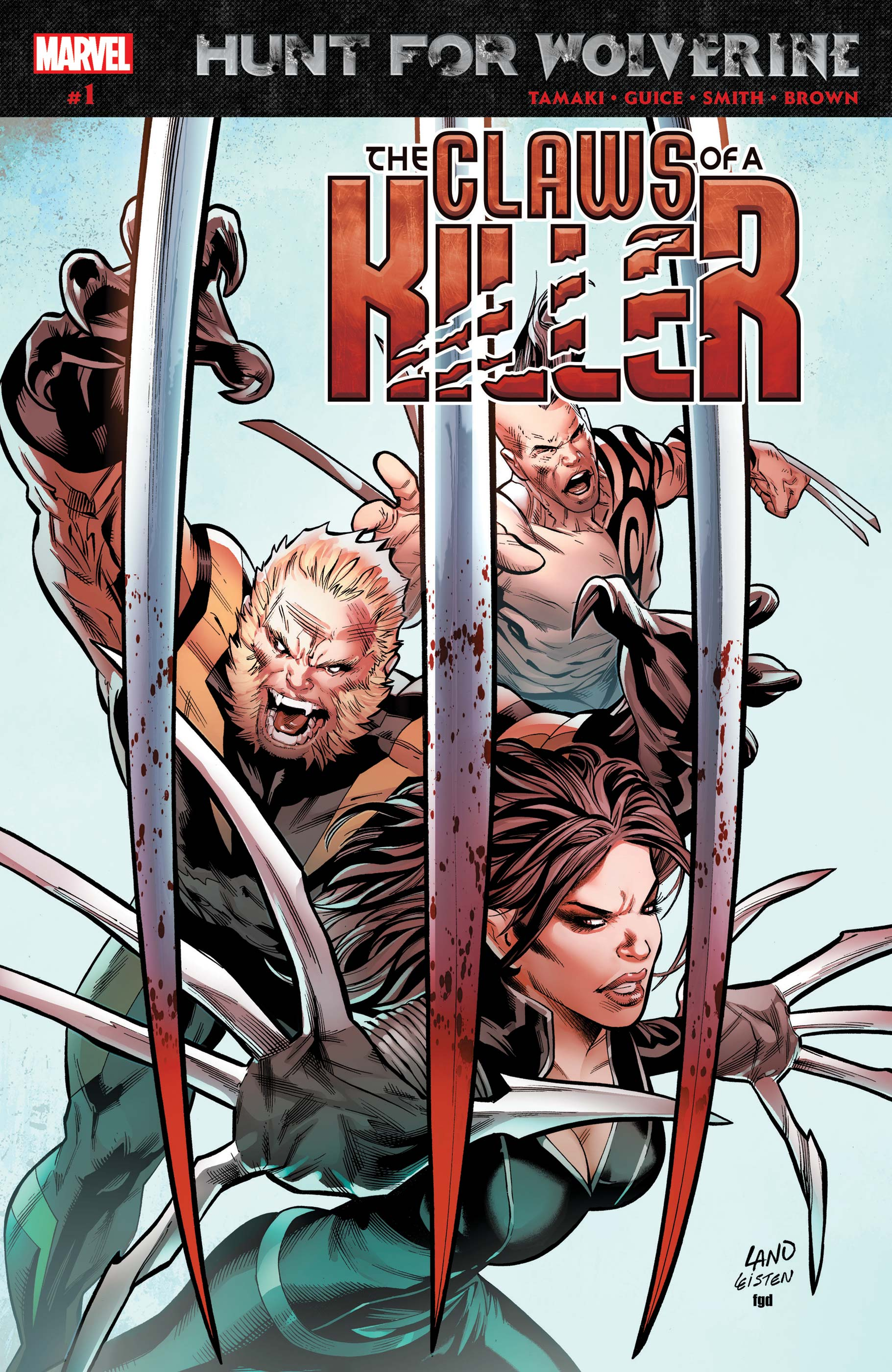 Hunt for Wolverine: Claws of a Killer (2018) #1