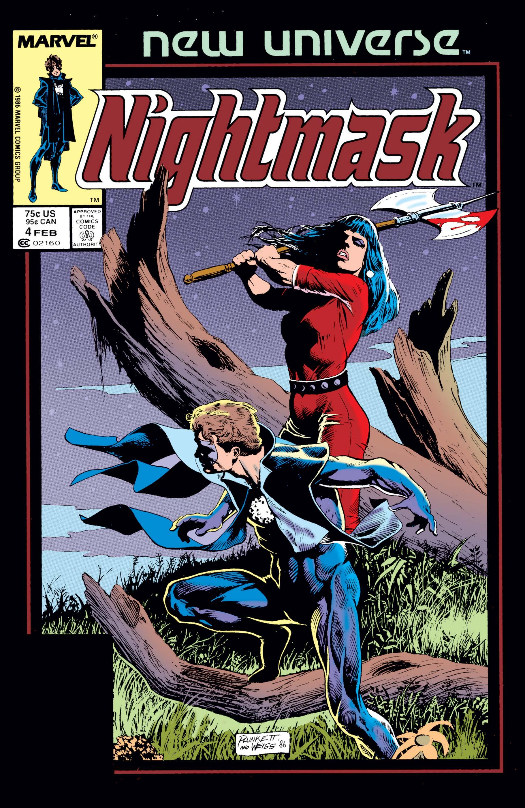Nightmask (1986) #4