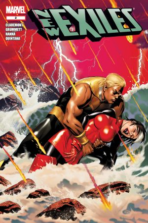 New Exiles #5 July 2008 Marvel Comics Claremont Castro Hanna