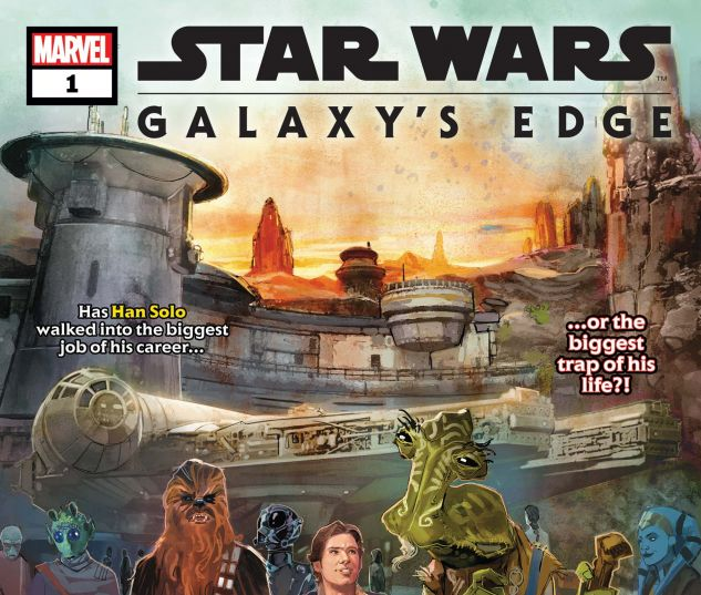 cover from Star Wars: Galaxy's Edge (2019) #1