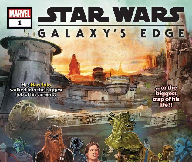 Star Wars: Galaxy's Edge (2019) #1 | Comics | Marvel com