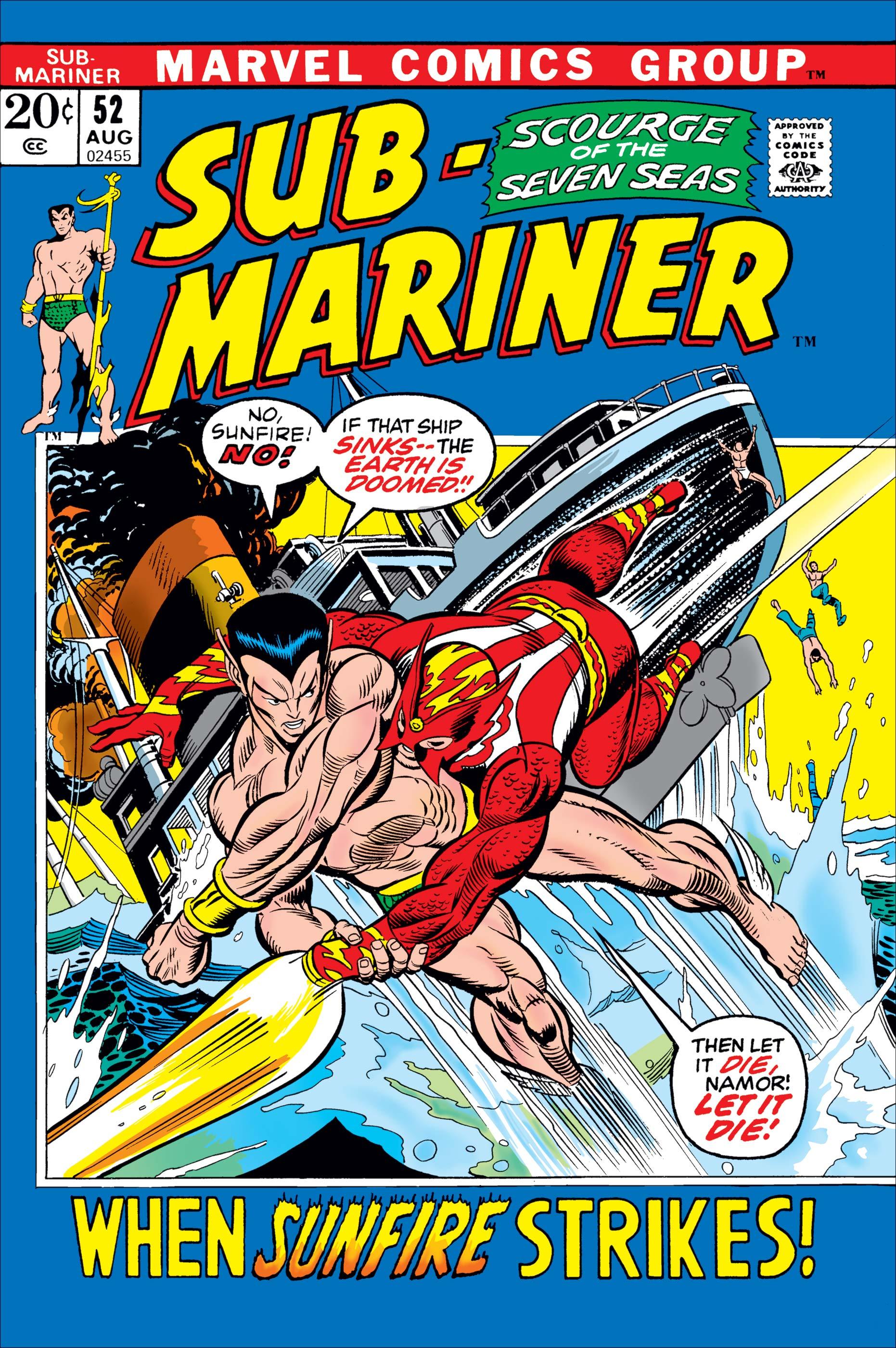 Sub-Mariner (1968) #52