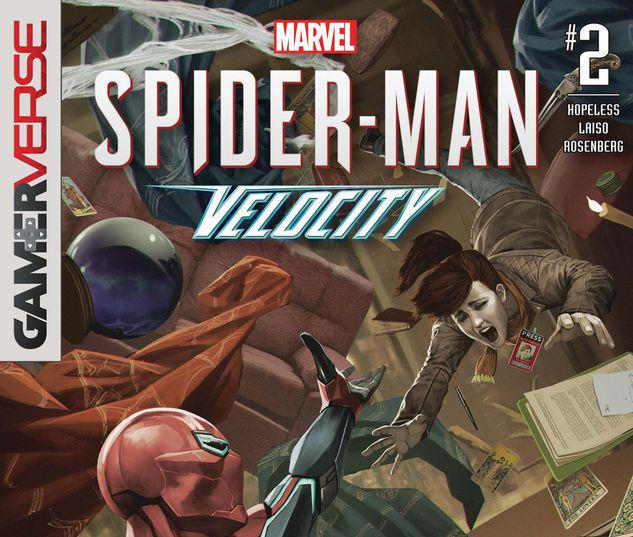 Gamerverse Spider-Man: Velocity #2