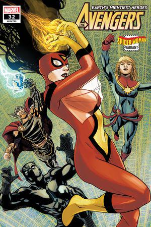 Avengers (2018) #32 (Spider-Woman Variant)