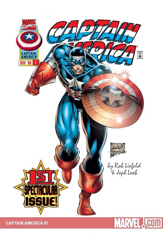Captain America (1996) #1