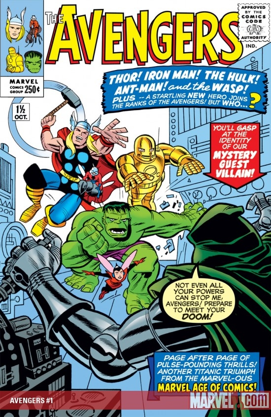 Avengers (1963) #1.5