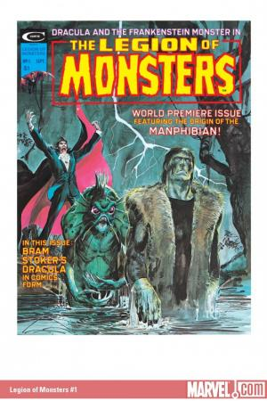 LEGION OF MONSTERS 1 (1975) #1