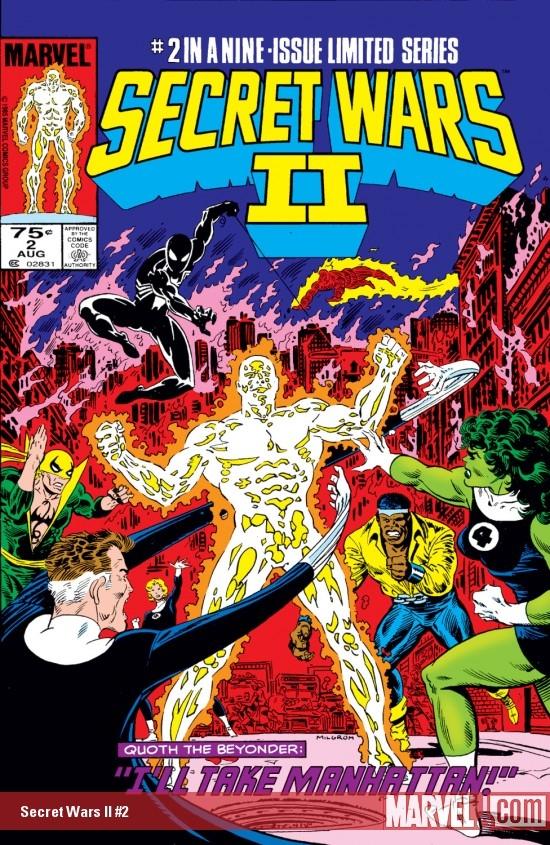 Secret Wars II (1985) #2