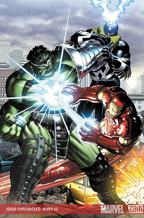 Hulk Chronicles: Wwh (2008) #2