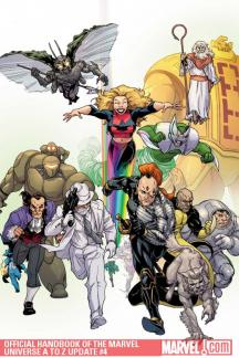 Official Handbook of the Marvel Universe A to Z Update #4