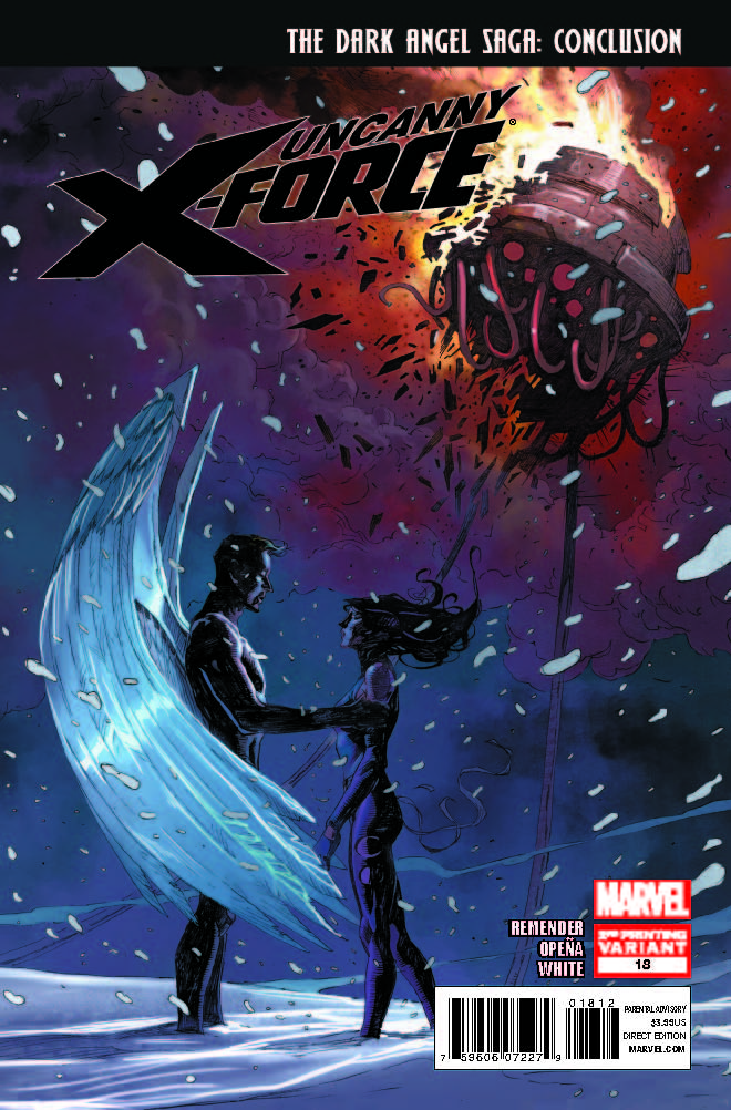 Uncanny X-Force (2010) #18 (2nd Printing Variant)