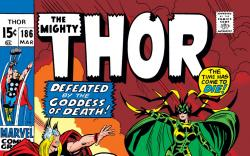 Thor (1966) #186 Cover