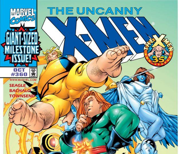 Uncanny X-Men (1963) #360 Cover