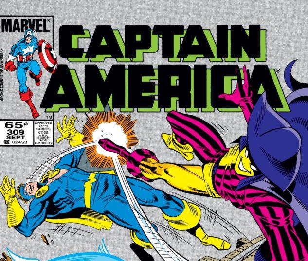Captain America (1968) #309 Cover